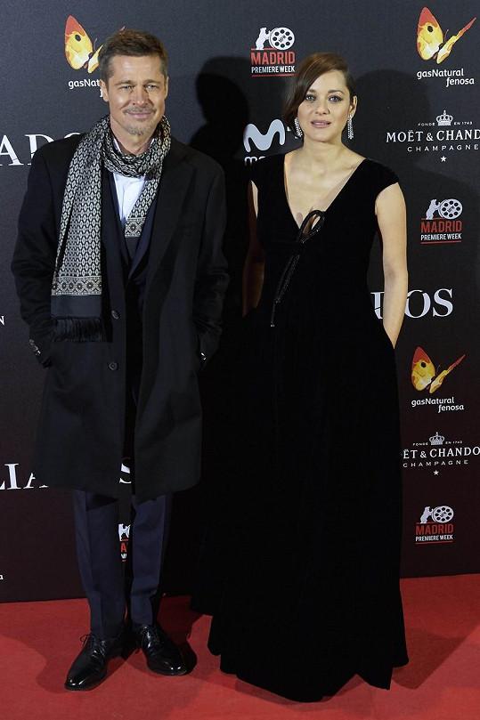 Brad Pitt s Marion Cotillard