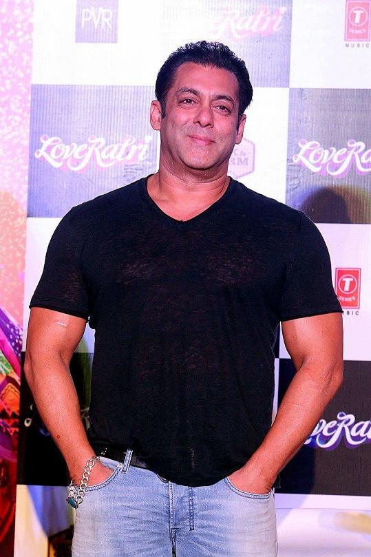9. Salman Khan - 38,5 miliónu amerických dolarů