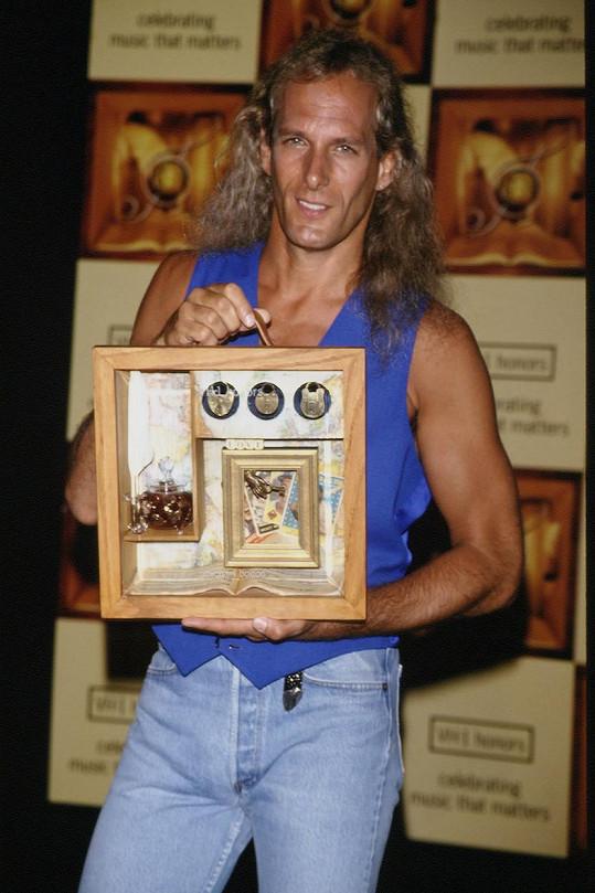 Zpěvák na snímku z roku 1994