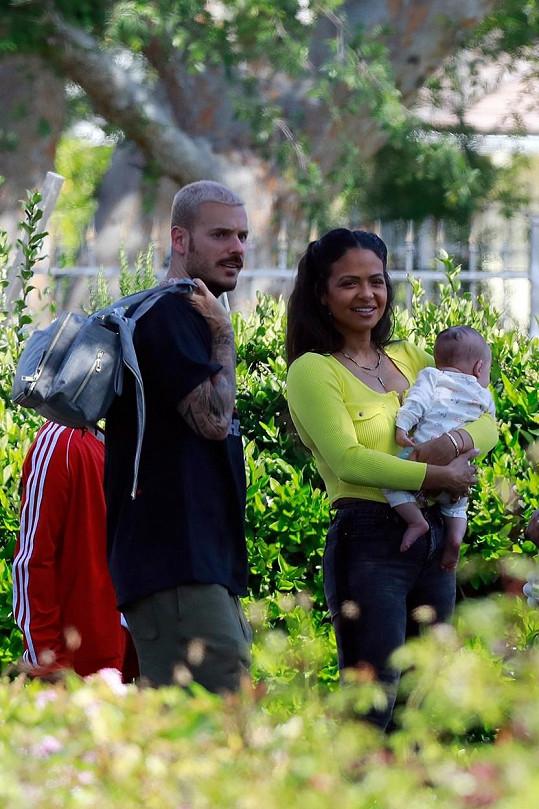 Christina Milian má doma čtyřměsíčního synka, kterého má s přítelem Mattem Pokorou.