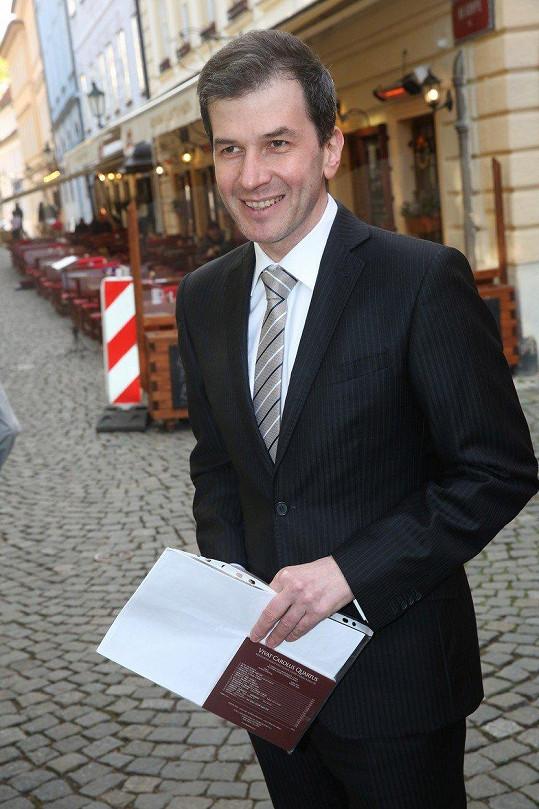 Jakub Železný je známým moderátorem...