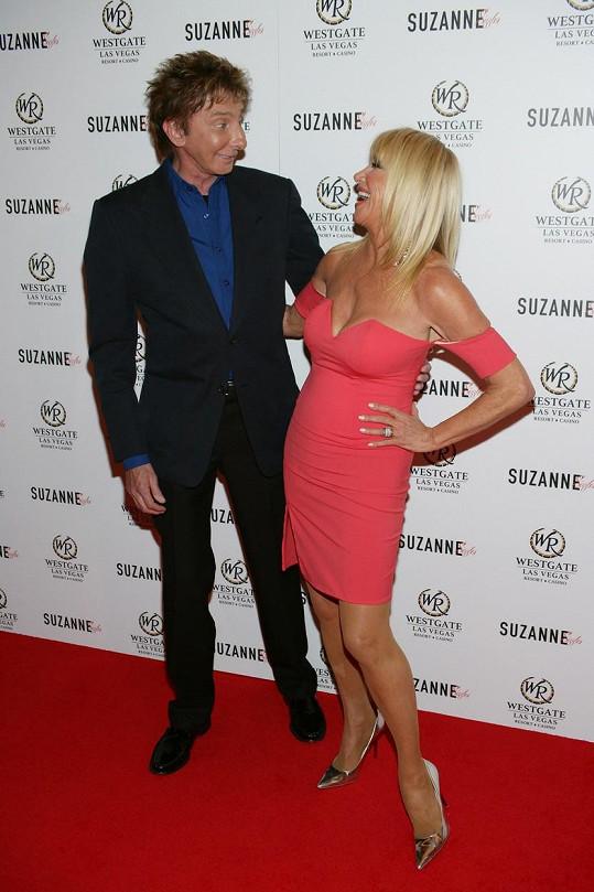 Suzanne s kamarádem Barrym Manilowem