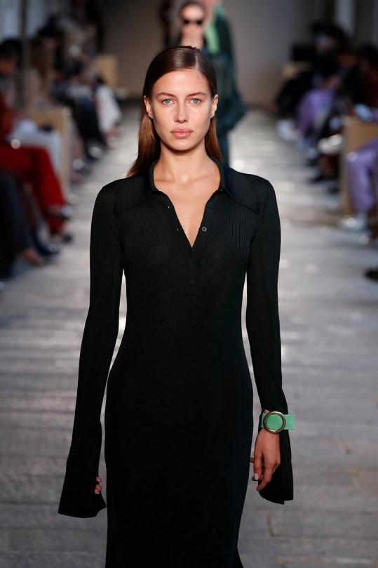 Poturalski je úspěšnou modelkou.