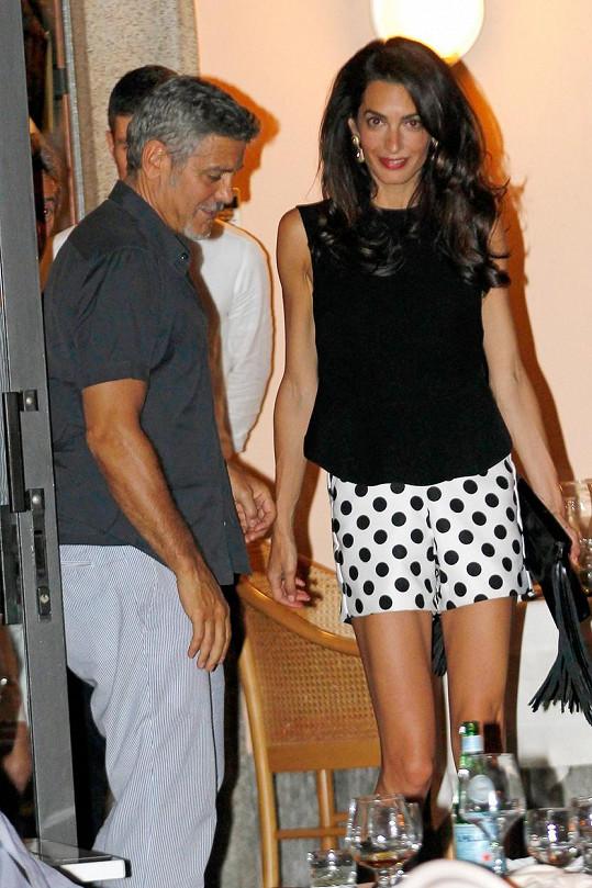 George a Amal Clooneyovi se mohou podívat, jak by mohli vypadat jejich potomci.