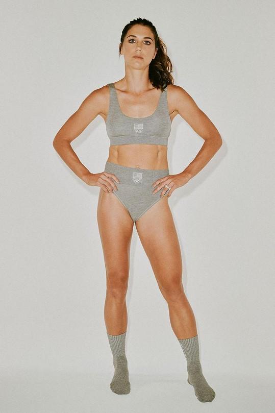 Skims je oficiálním dodavatelem spodního prádla pro sportovkyně USA na OH v Tokiu.