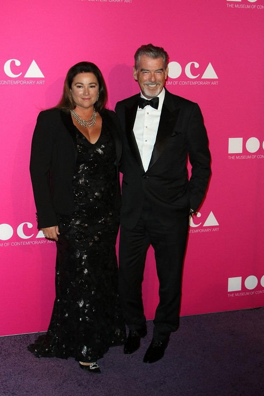 Pierce Brosnan s milovanou manželkou Keely