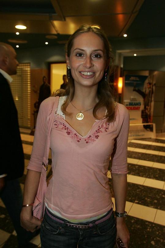 Danica Jurčová v roce 2007 na tiskové konferenci k filmu Bestiář, v němž ztvárnila hlavní ženskou roli.