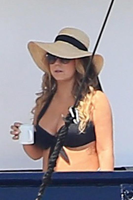 Mariah Carey na Ibize