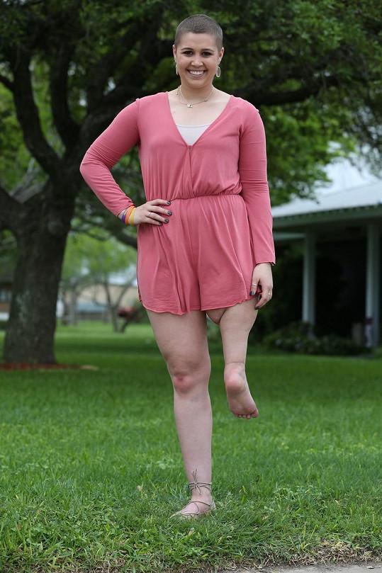 Krásný úsměv nedokázala Jillian smazat z tváře ani rakovina.