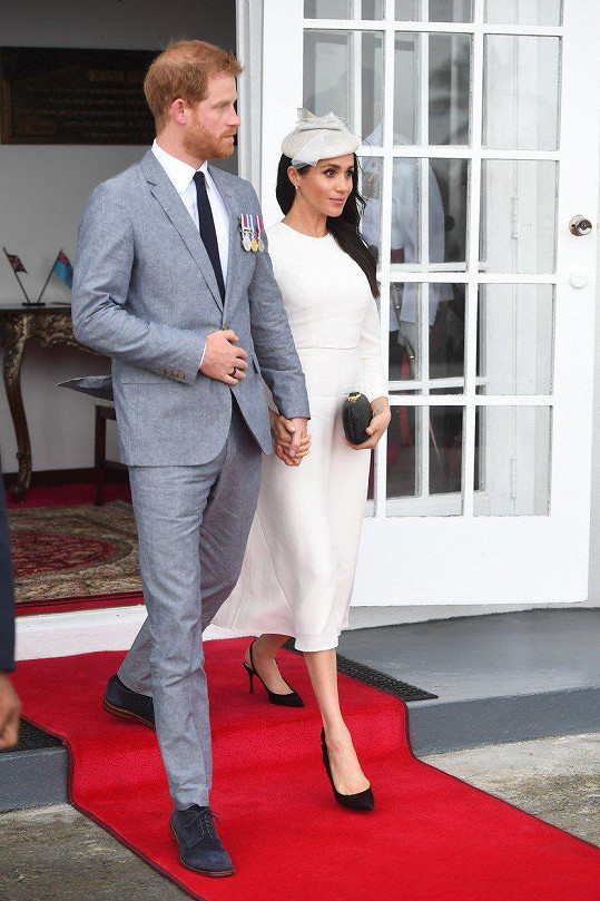 Harry a Meghan navštívili ostrovní stát Fidži.