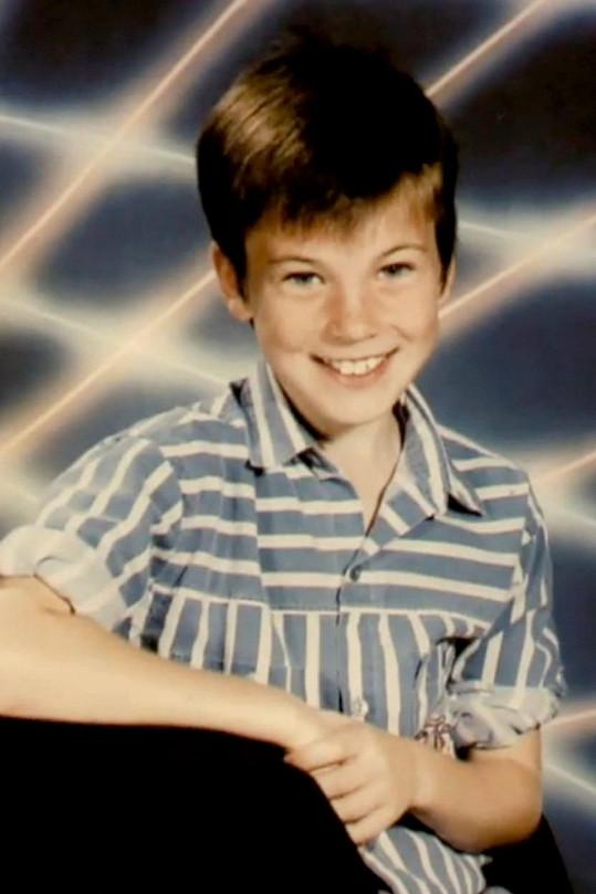 Takhle vypadal v dětství Chris Evans