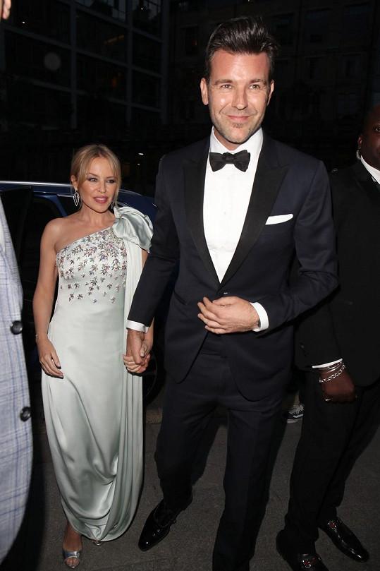 Od roku 2018 randí Kylie s kreativním ředitelem časopisu GQ Paulem Solomonsem.