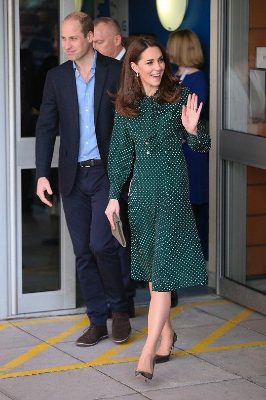 Vánoční volno tráví vévoda a vévodkyně z Cambridge v sídle Sandringham v Norfolku.