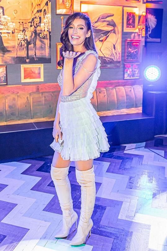Jasmina Alagič na párty SuperStar.