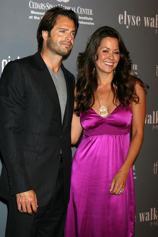 Brooke Burke s manželem Davidem Charvetem
