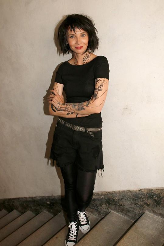 Jana Plodková bude ve filmu Gump za křehkou dívku, která se skrývá za drsnou image.