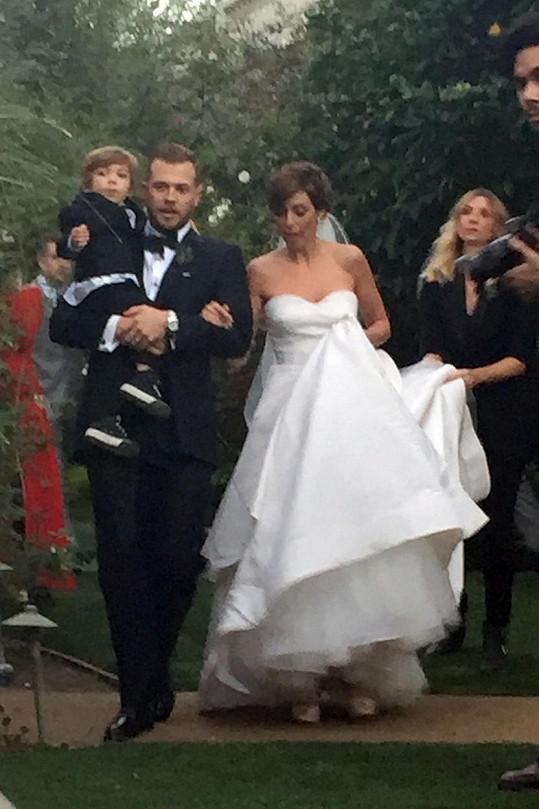 Jamie-Lynn Sigler se po třech letech dočkala svatby.