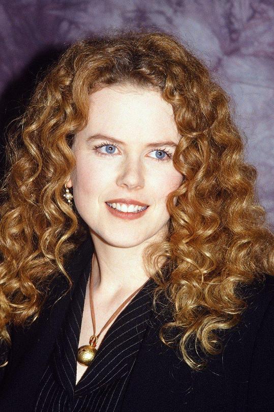 Nicole Kidman na začátku kariéry