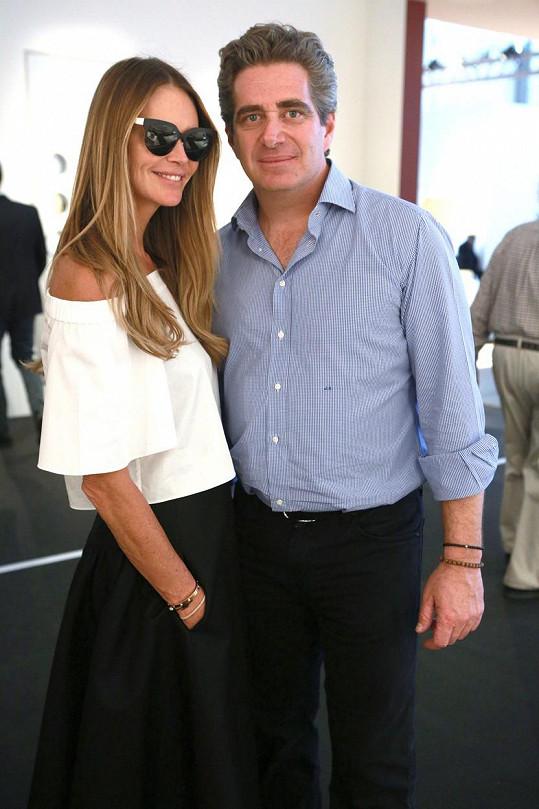 Modelka s manželem Jeffreym Sofferem