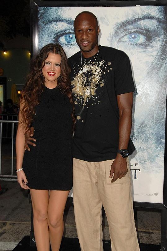 Basketbalista s bývalou manželkou Khloé Kardashian