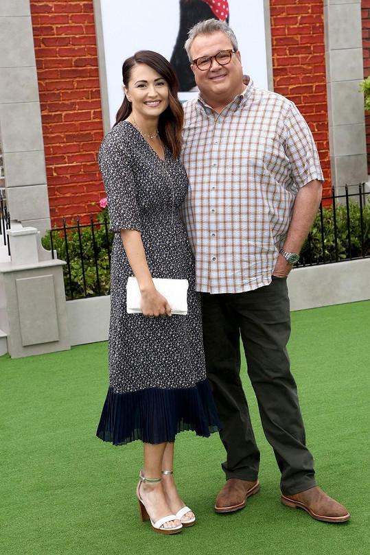Eric Stonestreet se snoubenkou Lindsay