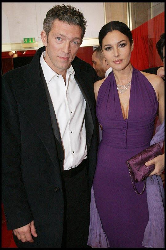 S exmanželkou Monicou Bellucci má herec dvě dcery.
