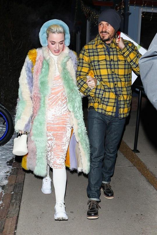 Katy a Orlando tvoří pár od roku 2016.