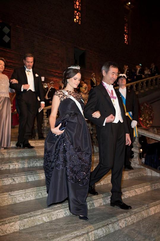 Princezna Sofia a Takaaki Kajita
