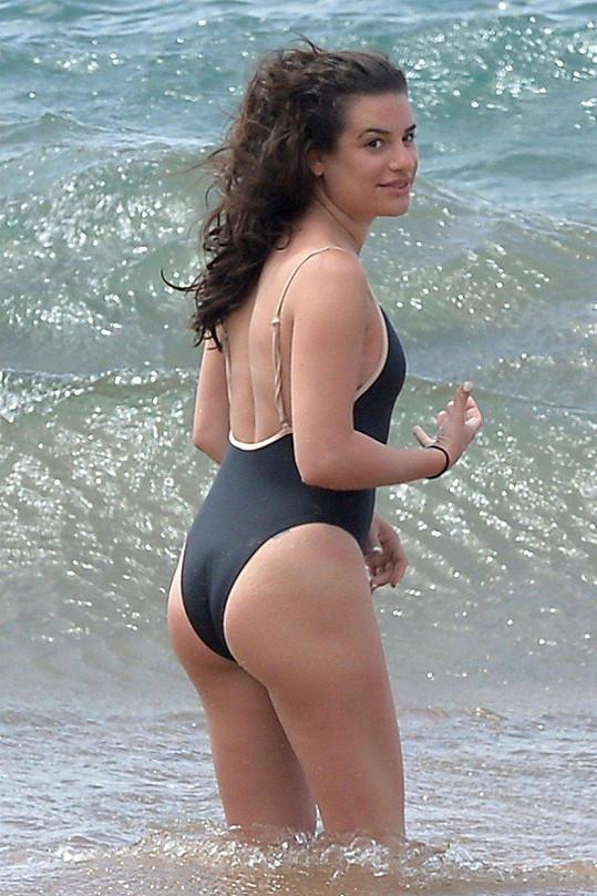 Lea Michele je hvězdou seriálu Glee, má i letité divadelní zkušenosti.
