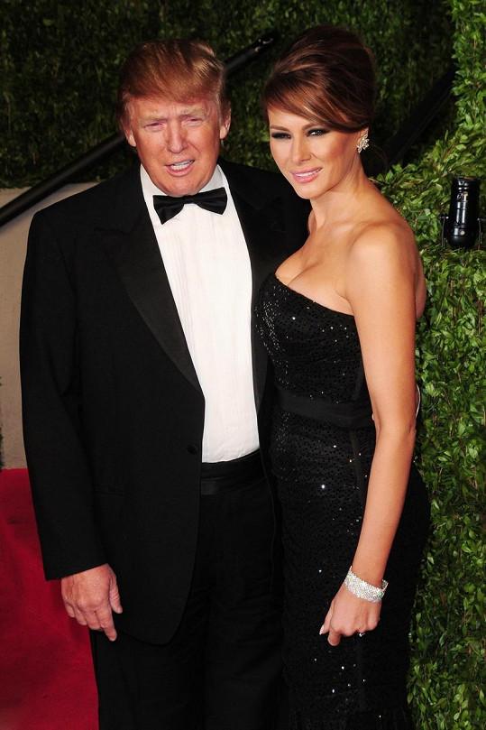 Trump si na krásné ženy potrpí.