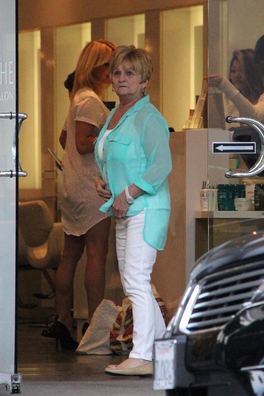 Toto je maminka Pamely Anderson