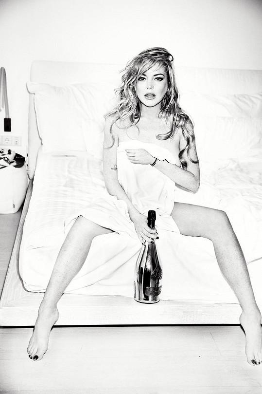 Lindsay navrhuje oblečení a momentálně natáčí i nový film.