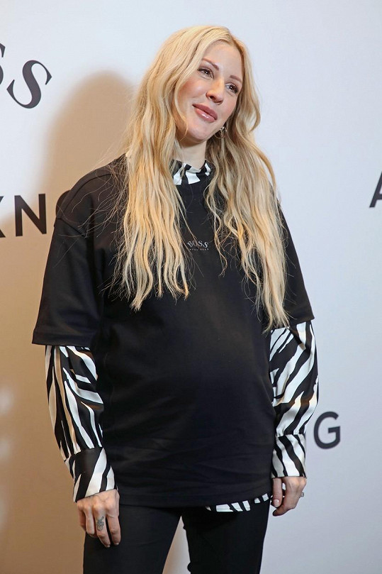 Ellie Goulding se stala poprvé maminkou.