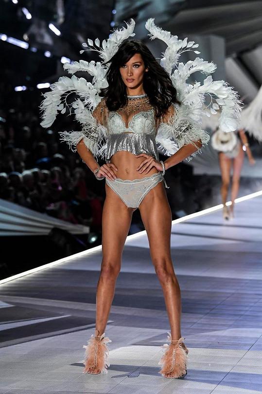 Přehlídku s andělskými křídly šla celkem třikrát.
