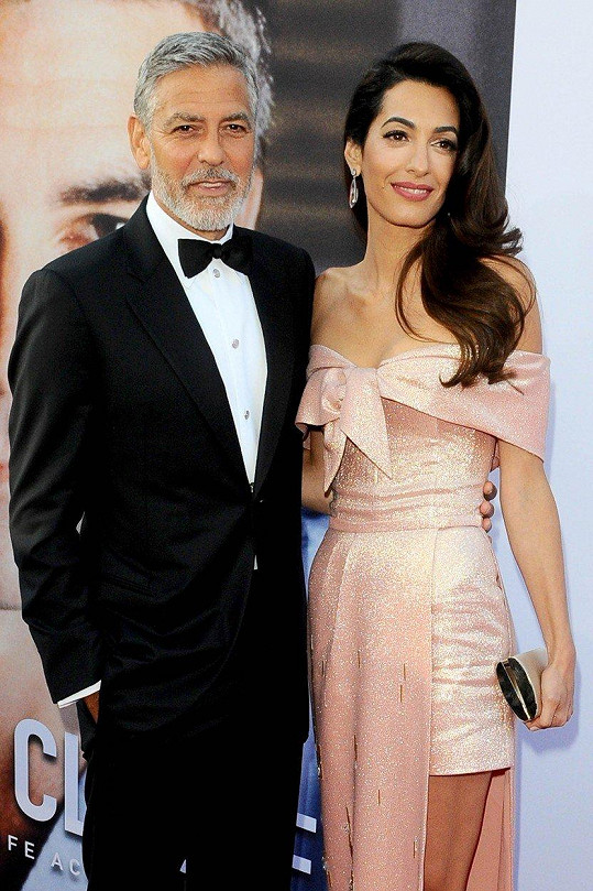 George a Amal tvoří nádherný pár.