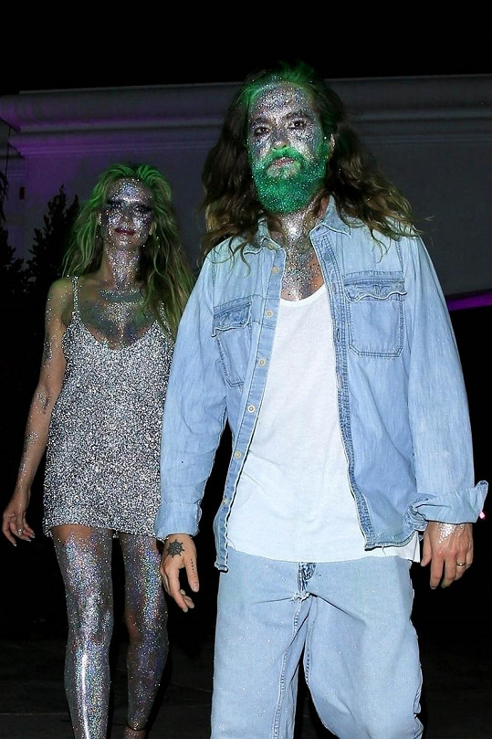 Heidi Klum s Tomem Kaulitzem byste možná ani nepoznali.