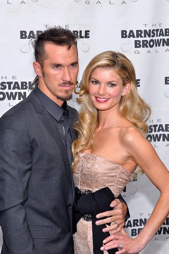 Marisa s manželem Griffinem