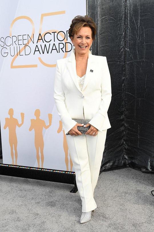 Gabrielle Carteris (58) alias Andrea je ředitelkou otganizace SAG-AFTRA.