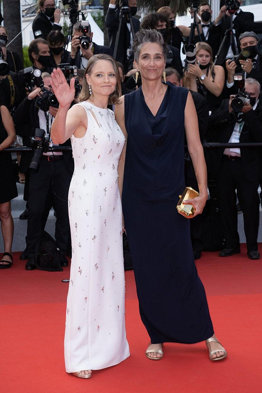 Jodie Foster a Alexandra Hedison v Cannes
