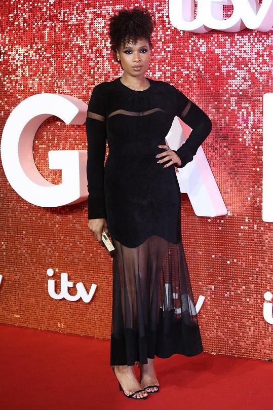 Jennifer Hudson na nedávném ITV Gala v Londýně
