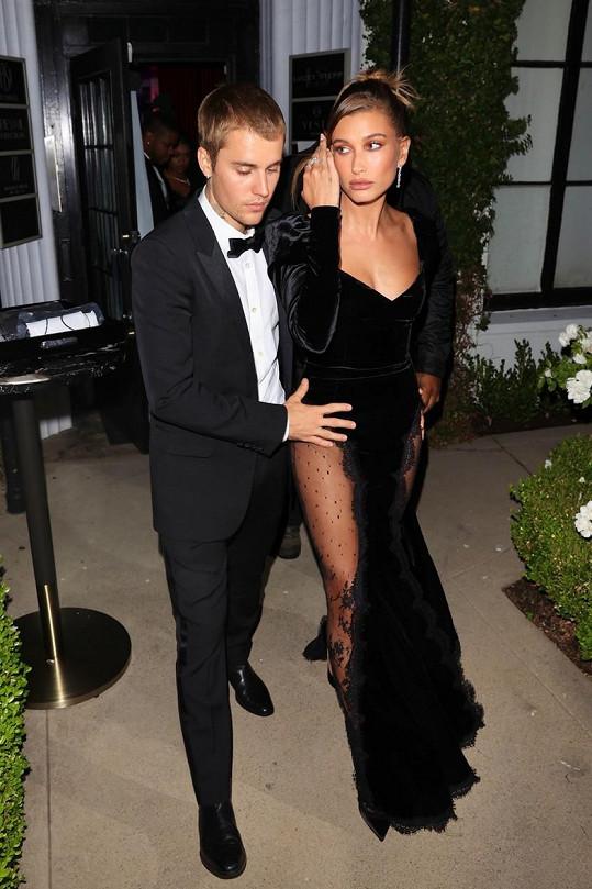 Justin a Hailey Bieberovi vypadali jako ze žurnálu.