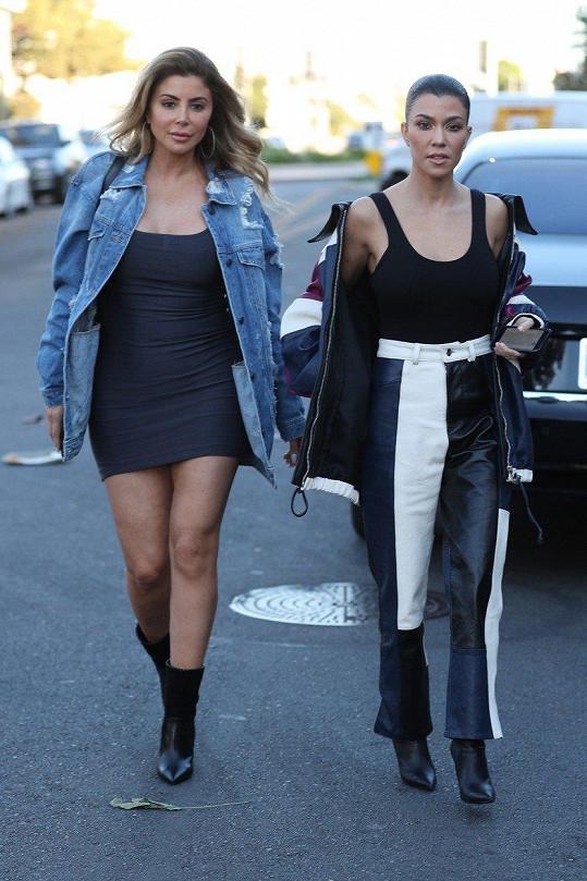 Přátelí se i s Kourtney Kardashian