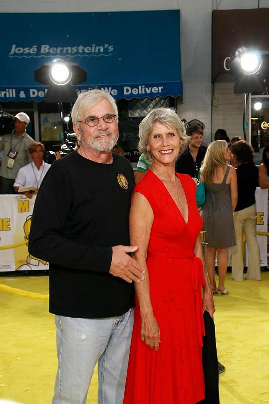 Alex Rocco s manželkou Shannon Wilcox