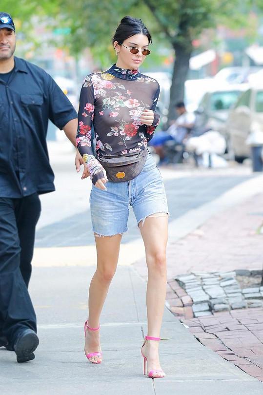 Kendall Jenner (21) je momentálně ambasadorkou firmy Adidas.