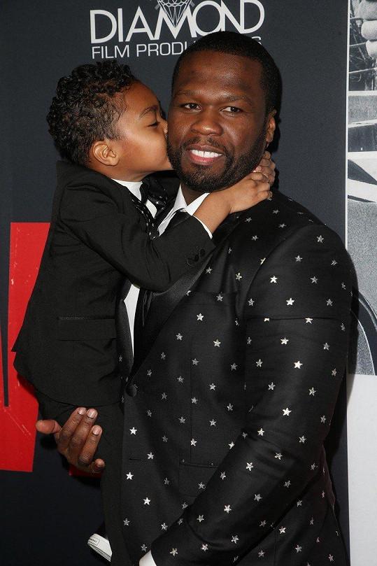 S raperem 50 Centem má syna Sirea.