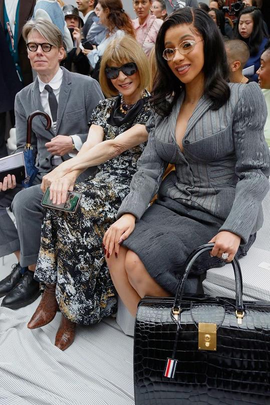 Na přehlídce Thom Browne po boku Anny Wintour