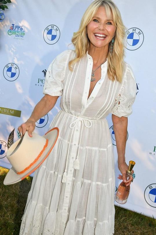Christie Brinkley vypadá v 67 letech stále jako mladice.