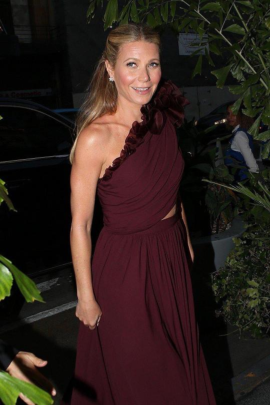 Gwyneth Paltrow je zralá na další svatbu.