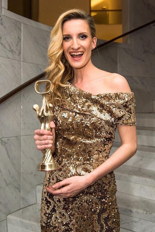 Adela byla zvolena nejlepší moderátorkou.