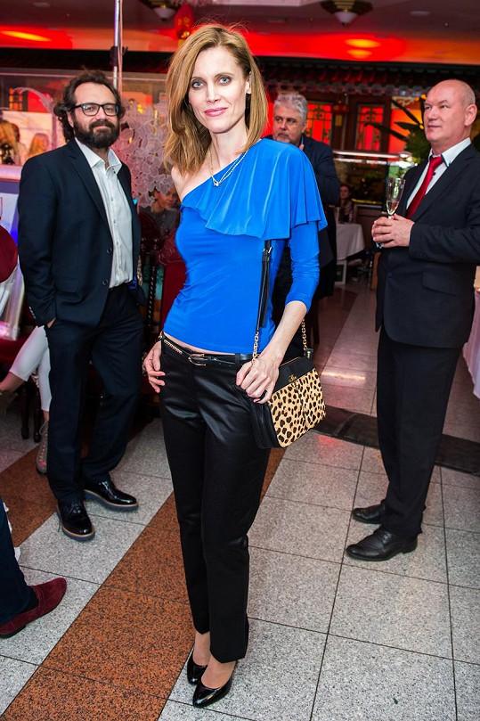 Silvia Šuvadová se ukázala na slovenské Jozefovské párty.